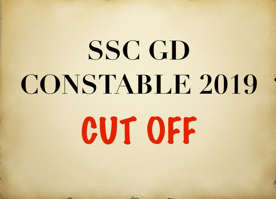 SSC GD CONSTABLE 2019 CUT OFF STATE WISE