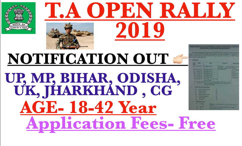 T.A. OPEN RALLY 2019